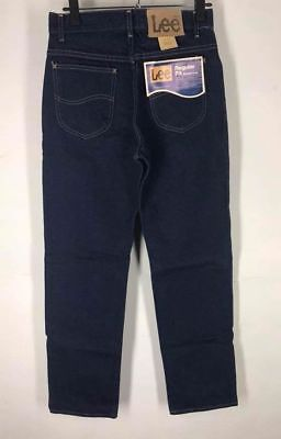 NWT 80's MENS LEE RIDERS REGULAR FIT JEANS ZIPPER FLY STRAIGHT LEG NOS (I)