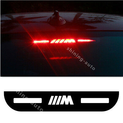 1x Car Top Rear Tail Light Decoration Cover Sticker For BMW F30 E90 E92 F35 320i