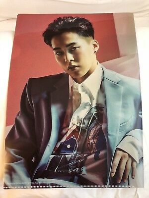 EXO SM Japan Official Goods - PREORDER - COUNTDOWN Clear File Folder - XIUMIN