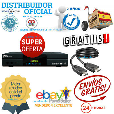 Decodificador Iris 9800 Hd Wifi + Cable Hdmi 4K +.mrw 24H+2 Años Garantia