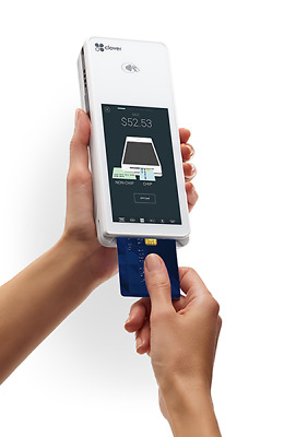 Clover Flex Mobile Point Of Sale Unit~ Android Apple Pay EMV Chip Gift+ WiFi 3G