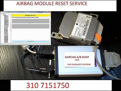 All 2013 Up  Airbag Module Computer Rcm Sdm Sas Reset Service