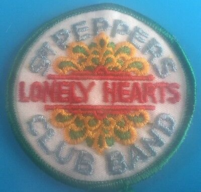 Sergeant Peppers Lonely Hearts Club Band Vintage Patch