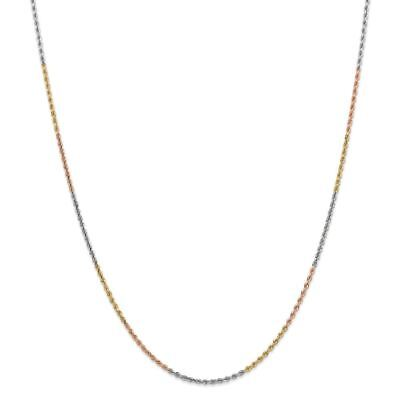 Genuine 14k Yellow Gold 1.80mm Flat Figaro Chain Necklace 20 inches 3.09gr