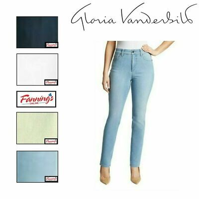 SALE! NWT Gloria Vanderbilt Ladies Amanda Stretch Jeans Heritage Fit VARIETY