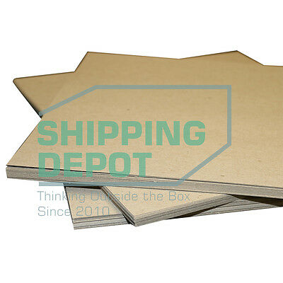 """500 Pack of 8.5x11 Chipboard Pads THICK 30PT .030 Scrapbook Sheets 8.5""""x11"""""""