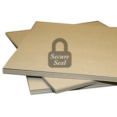 """30 Pack of 12x12"""" Square Chipboard Pads THICK Sturdy 30PT .030 Scrapbook Sheets"""