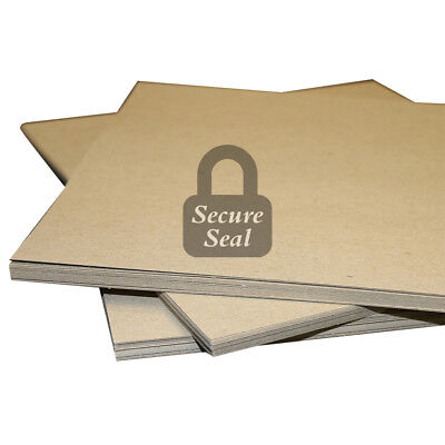 """40 Pack of 12x12"""" Square Chipboard Pads THICK Sturdy 30PT .030 Scrapbook Sheets"""