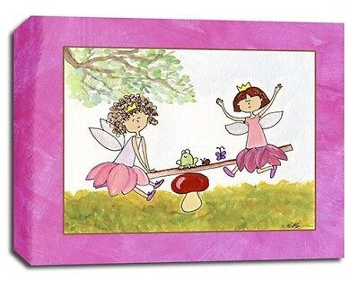 Fairy Princess, Prints or Canvas Wall Art Decor, Kids Bedroom Baby Nursery