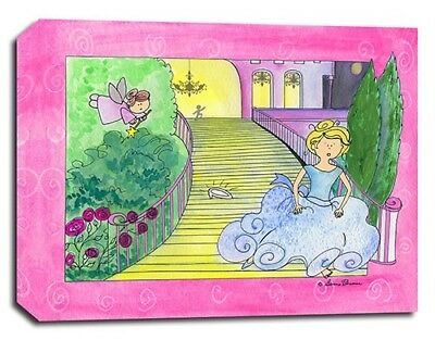 Princess Fairy , Prints or Canvas Wall Art Decor, Kids Bedroom Baby Nursery