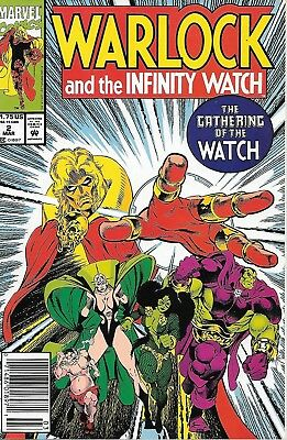Warlock and the Infinity Watch #2 NM Marvel Comics March 1992