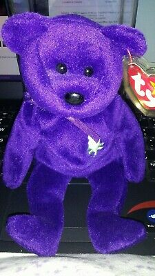 949735a2870 Rare 1997 Princess Diana Ty Beanie Baby 1st Edition Mint Condition Retired