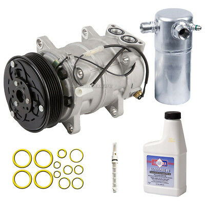 New AC Compressor & Clutch With Complete A/C Repair Kit Fits Volvo S90