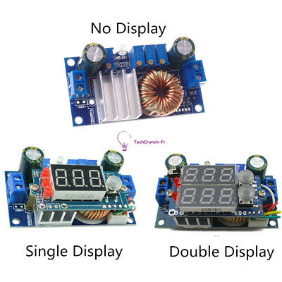 5A DC-DC Step-down CC/CV Charging Module LED Display MPPT Solar Panel Controlle