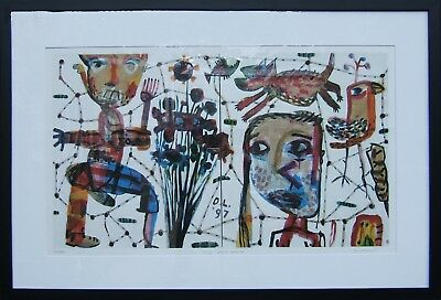 David Larwill Tanya Goes to Melbourne sold out limited edition print