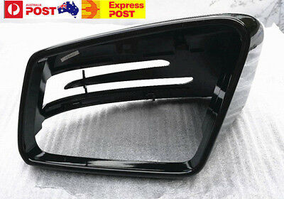 MIRROR COVER CAP for Mercedes Benz A B C E S CLA GLA GLS Class Gloss Black LH/RH