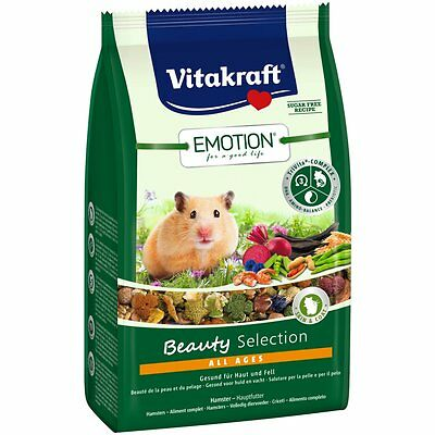 Vitakraft Emotion BEAUTY all ages , hámster -600g-Comida Alimento Especial