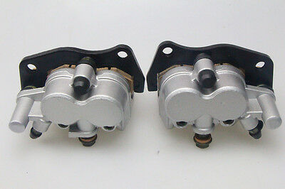 Front Brake Caliper Left&Right For SUZUKI BURGMAN AN400 2007-2011 with pads New