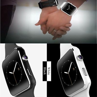 Bluetooth Smart Watch Phone X6 Wristwatch For ios Android With Camera LOT@YT