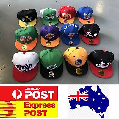 NBA Team Hats Bundle Special, Any 4 Pieces For $25 Including Postage