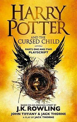 Harry Potter and the Cursed Child  Parts 1 & 2 New Book 2016  One Two 0751565369
