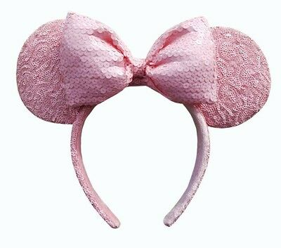Disney Parks Minnie Mouse Millennial Pink Ears - Millennial Pink Minnie Ears