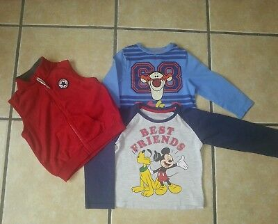 Boys 2-3 years small bundle includes Converse.Excellent condition!