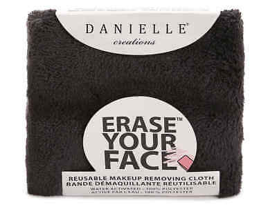 Danielle ERASE YOUR FACE Reusable Make-Up Removing Cloth BLACK