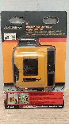 Johnson Self-Leveling 360 Laser with Plumb Line