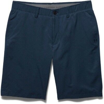 UNDER ARMOUR GOLF MEN'S MATCH PLAY VENTED SHORTS NAVY BLUE NEW  pick size