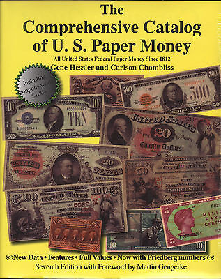 Catalog of US Paper Money 7th Ed FREE Shipping USA Clearance Priced only $9.95