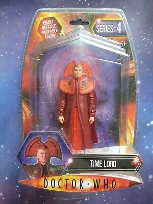 """Doctor Who Time Lord Gallifrey Series 4 Cloak And Robes  5"""" Figure Boxed Bnib"""