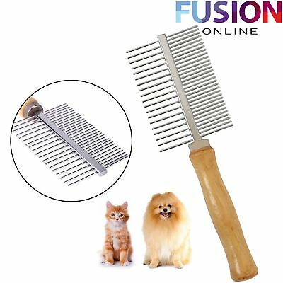 Pet Grooming Brush Double Sided Groomer Pet Cat Dog Hair Fur Brush Comb Tidy