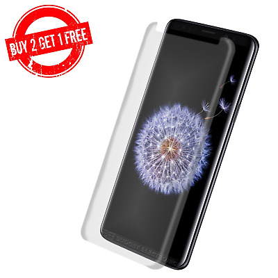 3D Curved Samsung Galaxy S9/S9 PLUS High Quality Tempered Glass Screen Protector