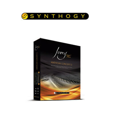 Synthogy Ivory II - American Concert D Virtual Piano Plug In (Boxed)