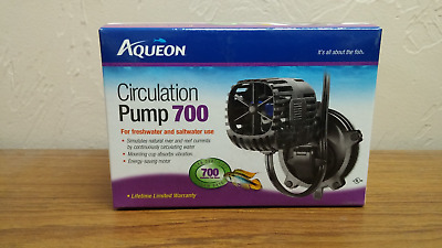 Aqueon Circulation Pump 700 GPH 2.8W  Freshwater or Saltwater NEW
