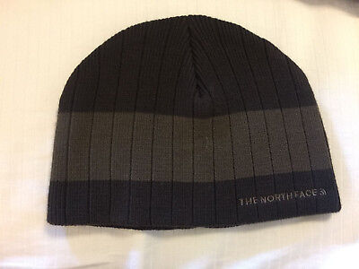 5377d9789 NORTH FACE KNIT beanie cap hat BROWN KNIT one size fits all