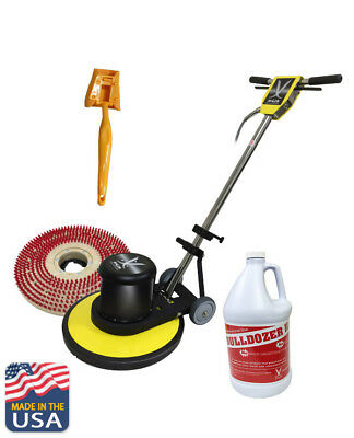 """JL Multi-function Low Speed Buffer 20"""" Cleaning Path"""