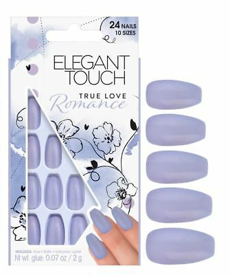 Elegant Touch Faux Ongles - True Love Romance (24 Ongles)