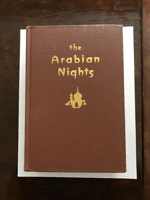 The Arabian Nights' Entertainments Book 1944 Lane - Hard Cover