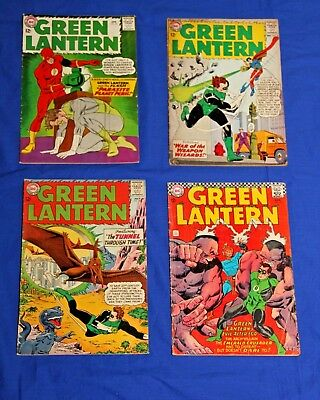 GREEN LANTERN Silver Age 4 Comic Lot #20 25 30 51 Flash DC Key