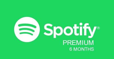 Spotify Premium Account Subscription - 6 Months   New Account