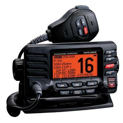 Vhf Fixed Mount Standard Horizon Explorer Ultra Compact Class D Dsc- Black