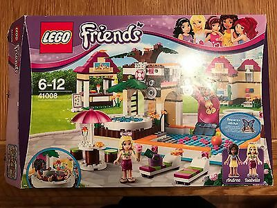 Lego Friends Heartlake City Pool 41008 Boxed Instructions 100