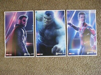 "Avengers Infinity War ( 11"" x 17"" ) Movie Collector's Poster Prints (Set of 3))"