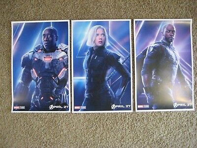 "Avengers Infinity War ( 11"" x 17"" ) Movie Collector's Poster Prints ((Set of 3)"
