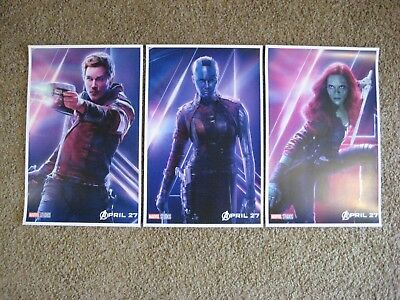 "Avengers Infinity War ( 11"" x 17"" ) Movie Collector's Poster Prints )(Set of 3)"