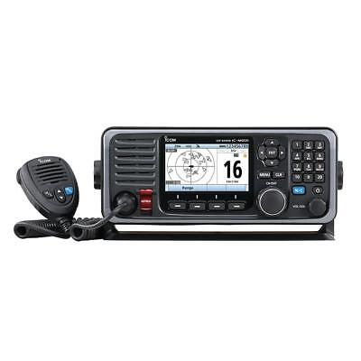 Vhf Fixed Mount Icom M605 Fixed Mount 25W Vhf W/Color Display & Rear Mic