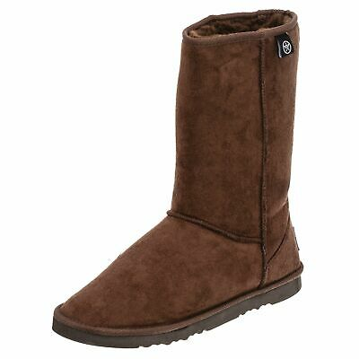 Unit Mid-cut Sherpa Boot in Black, Brown