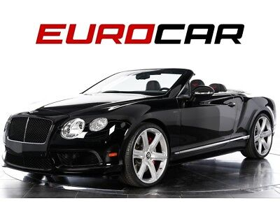 Continental GT V8 S Convertible ($231,160.00 MSRP) 2015 Bentley Continental GT V8 S Convertible - $231,160.00 MSRP, RED STITCHING